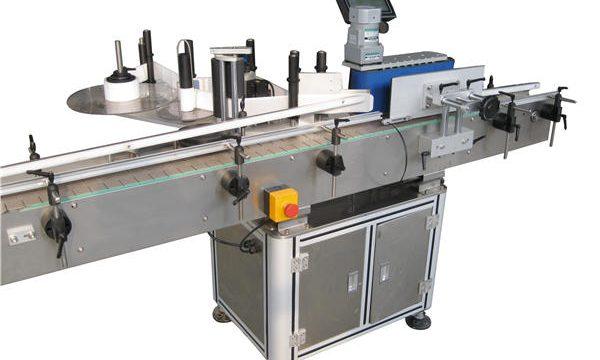 Automātisko uzlīmju apaļo pudeļu marķēšanas mašīnu ražotājs
