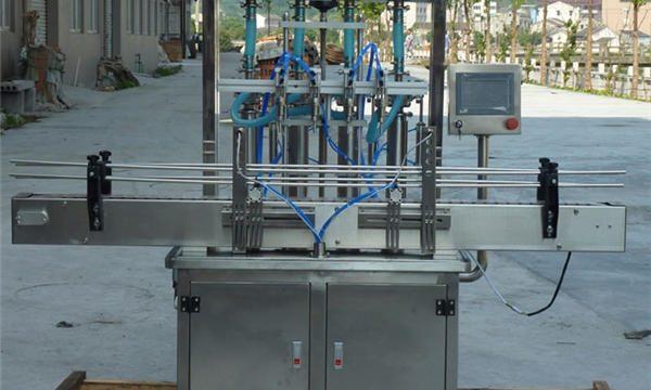 Automātiska zemesriekstu pasta pildīšanas mašīna