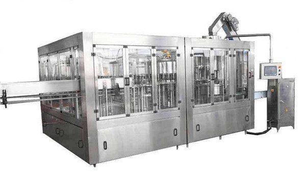 8000BPH automātiskā kokosriekstu eļļas iepildīšanas mašīnu līnija