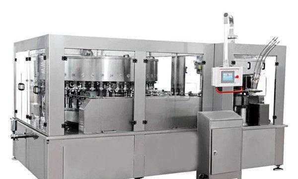 Alumīnija kārbu pildīšanas mašīna enerģijas dzēriena bezalkoholiskajam dzērienam