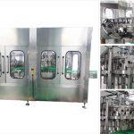 Automātiska alus degvīna vīna stikla pudeļu pildīšanas mašīna
