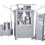 Automātiska kapsulas pildītāja kapsulas iepildīšanas mašīna pulvera piepildīšanai