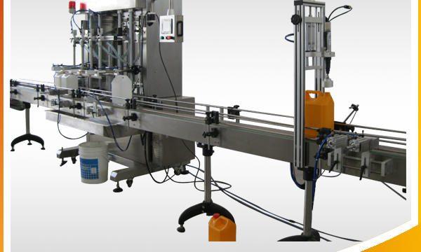 Automātiska rotaslietu tīrīšanas līdzekļa šķidruma iepildīšanas mašīna
