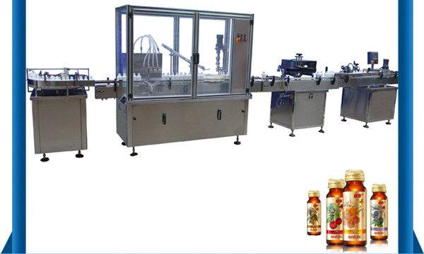 Ķīna Piegādātāja automātiskā medus pudeļu šķidruma pildīšanas mašīna