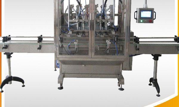 Automātiska pārpildes gravitācijas pudeles šķidruma iepildīšanas mašīna