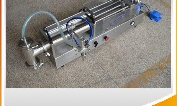 Pusautomātiska virzuļa iepildīšanas mašīna Ideāla eļļas iepildīšanas mašīna