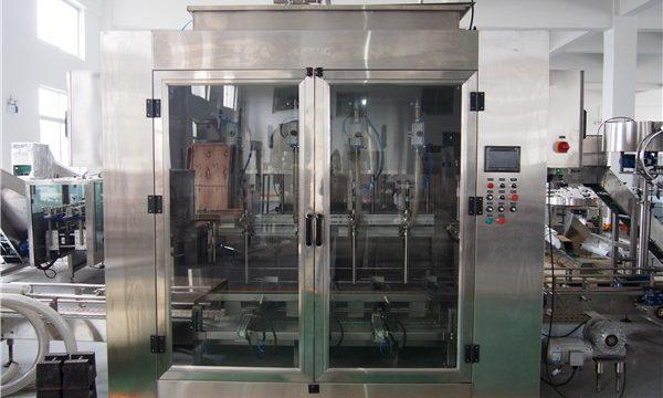 Automātiska pārtikas eļļas iepildīšanas mašīna un olīveļļas iepakošanas mašīna