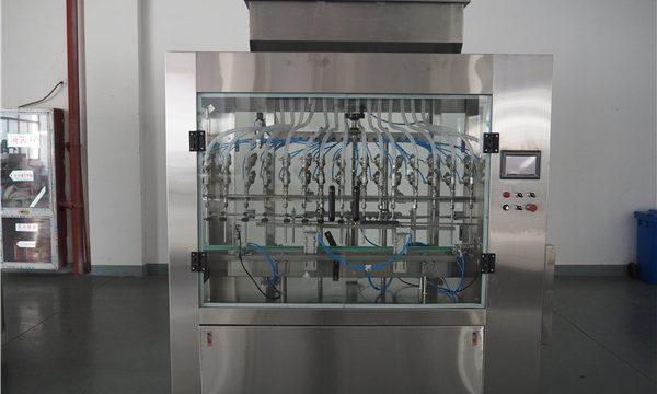 Automātiska 12 galvas atmosfēras spiediena šķidruma pildīšanas iekārta