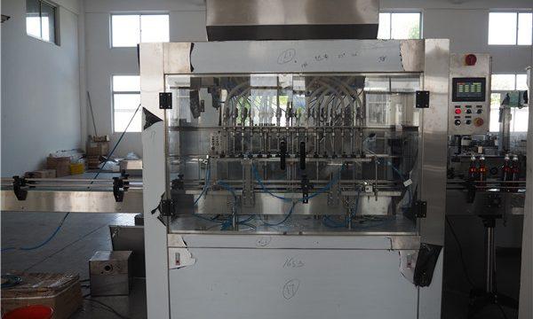 Profesionāla ražotāja automātiska eļļas iepildīšanas mašīna