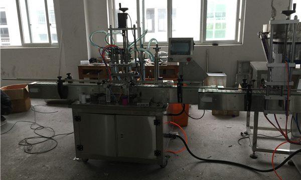 Automātiska virzuļa šķidruma iepildīšanas mašīna no 50ml līdz 1L