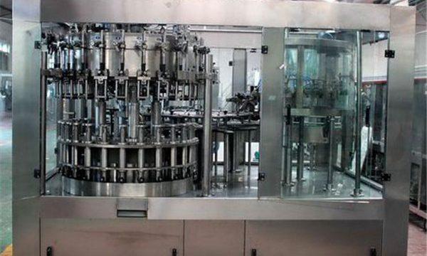 Automātiska nerūsējošā tērauda šķidruma iepildīšanas mašīna eļļai / attīrītam ūdenim