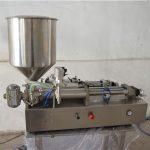 Pusautomātiska manuāla eļļas iepildīšanas mašīnas kosmētika