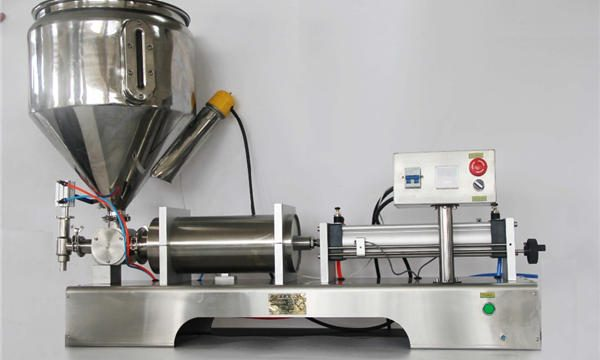 Augstas precizitātes pusautomātiska jauktu augļu ievārījumu pildīšanas mašīna ar CE GMP