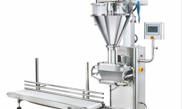 Pusautomātiska piena pulvera iepildīšanas mašīna