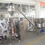 Paaugstinošs pulveris un automātiska pulvera maisa iepildīšanas mašīna