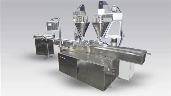 Sešu galvu automātiska kafijas uzpildes mašīnas pulveris