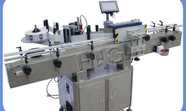 Automātiska NPACK apaļo pudeļu marķēšanas mašīnu ražotājs ar printeri