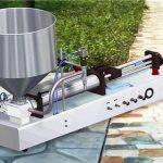 Pusautomātiska mazgāšanas līdzekļa šķidruma iepildīšanas mašīna