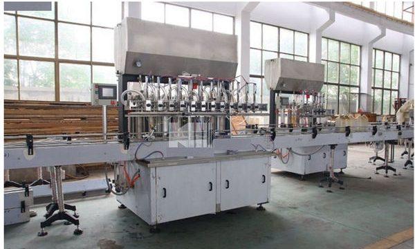 Uzņēmumi Ražošanas mašīna Augstas kvalitātes šampūnu pildīšanas mašīna