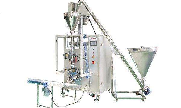 Vertikāla automātiska pulvera iepildīšanas un aizzīmogošanas mašīna