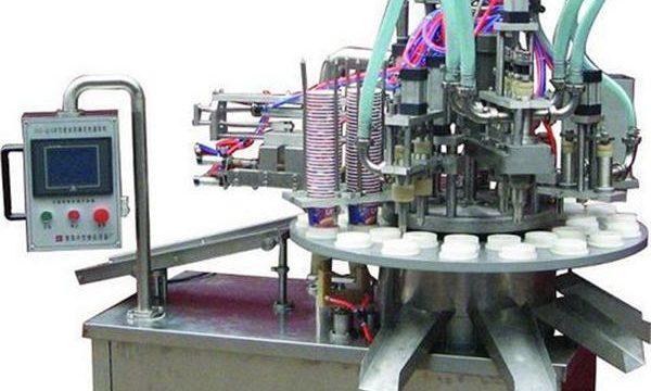 Automātiska kosmētiskās ziedes / krējuma iepildīšanas mašīna