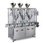 Automātiska sīrupa pulvera pildīšanas mašīna ar atlaidi