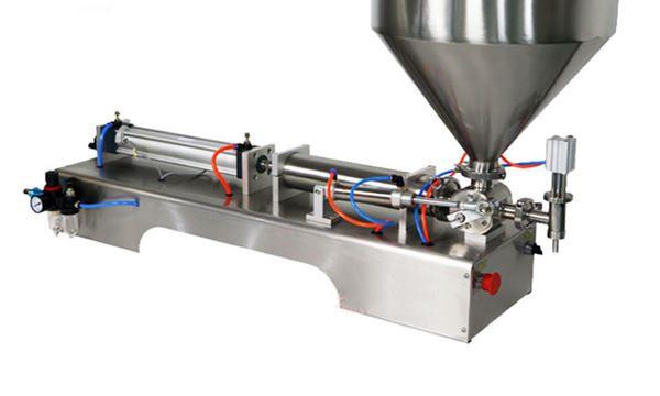 100-1000ml pusautomātiska krējuma kārtainās iepildīšanas mašīna