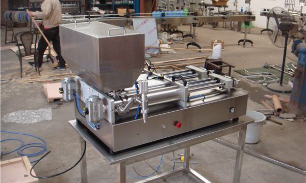 Lētākā pneimatiskā pusautomātiskā ievārījuma pildīšanas mašīna